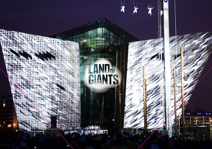 Land of Giants Titanic Quarter Belfast