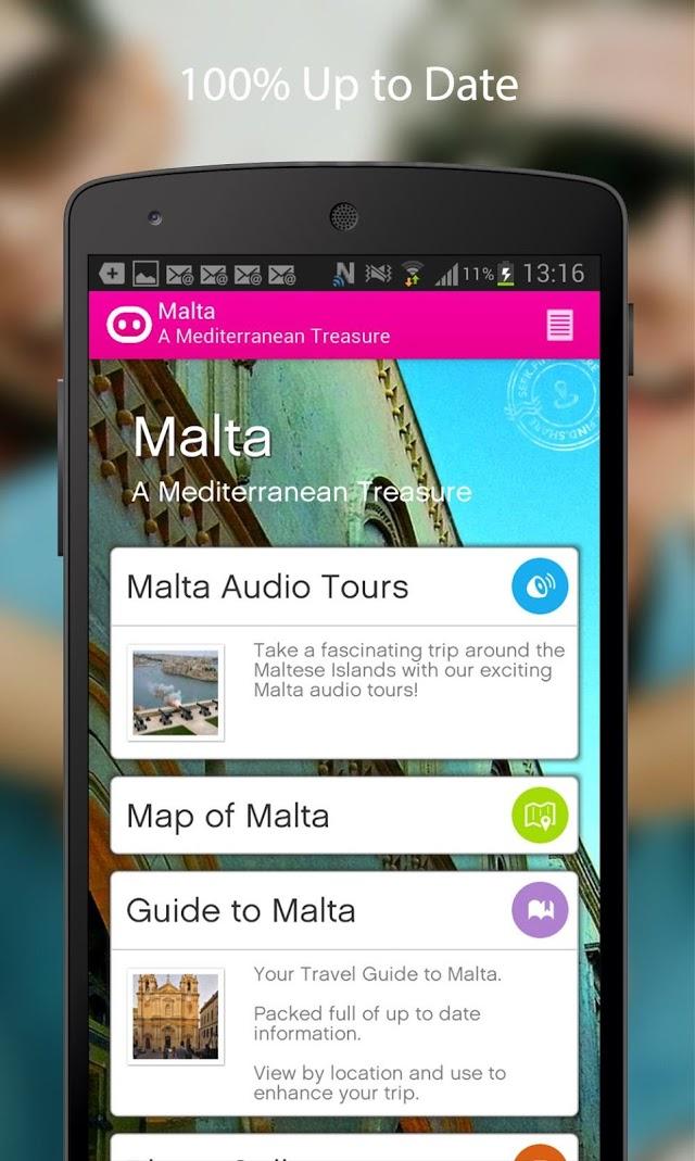 Snout Malta app - Malta audio tours